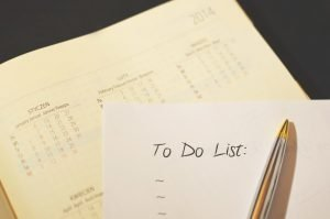 Making a good checklist is important part of moving and packing