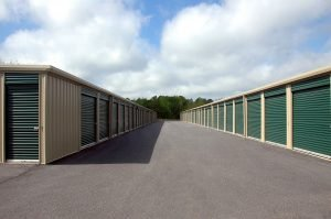 Many moving companies provide storage units for storing your possessions