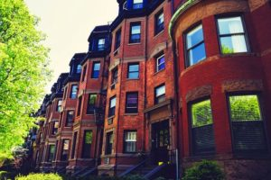 moving from Boston to Cleveland - brown buildings