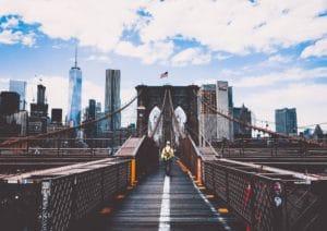 moving to Brooklyn to walk on the Brooklyn bridge