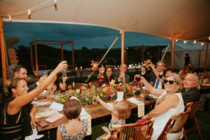 organize a dinner for your housewarming party