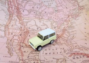 USA map - a necessity in your cross-country moving checklist